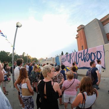 El disseny <em>Taboos & Stereotypes</em> omple d'art urbà una paret del PSSJD