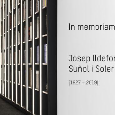 In memoriam: Josep Ildefons Suñol i Soler (1927-2019)