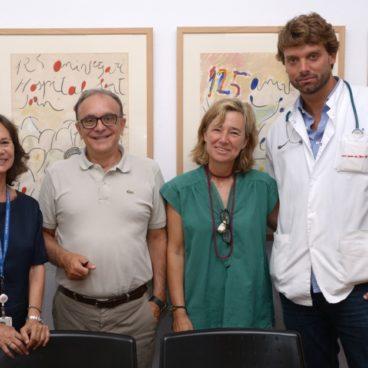 La Fundació Glòria Soler colabora en la Unidad de cuidados paliativos del Hospital Sant Joan de Déu