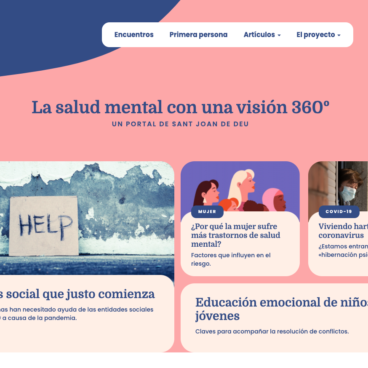 Curators Project. The Glòria Soler Foundation and SOM360, a partnership for mental health
